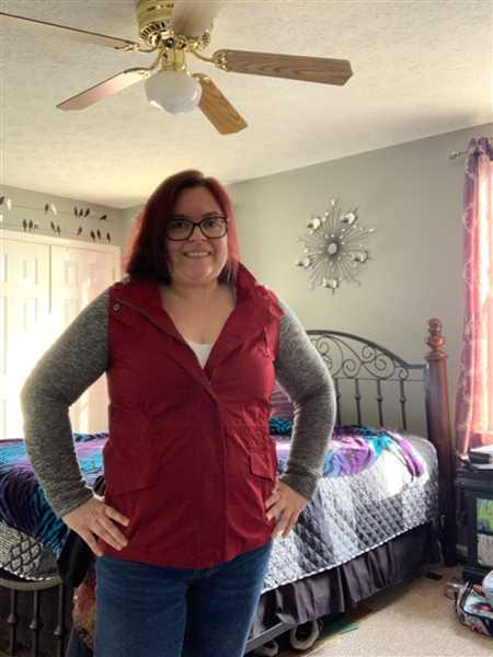 Dawn MacMullen verified customer review of When I'm With You Hooded Jacket - Wine