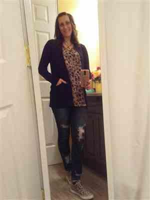 Jennifer Ulrich verified customer review of At Your Leisure Cardigan - Black