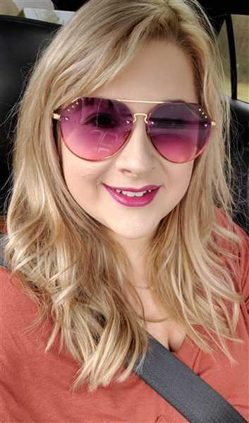 Nicole R. verified customer review of Like A Rockstar Studded Aviators