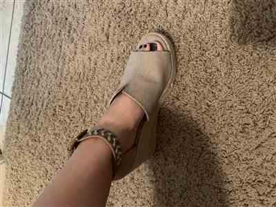 Krystal S. verified customer review of True To Your Heart Wedges - Taupe