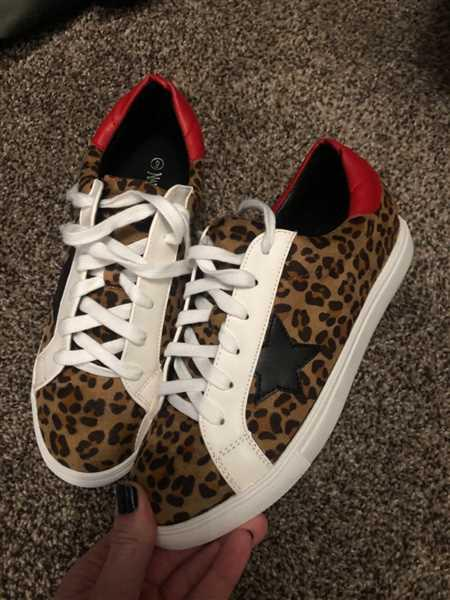 Nichole Schlosser  verified customer review of You're A Rockstar Sneakers - Leopard