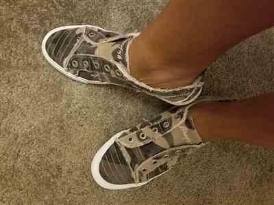 Joy Johnson verified customer review of Wherever You Wander Sneakers - Natural Camo
