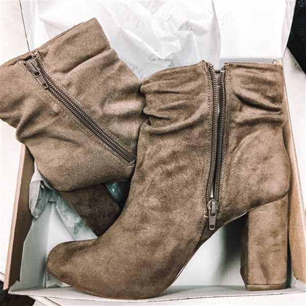 Melissa Wittkopf verified customer review of Annie Slouchy Ankle Booties - Taupe