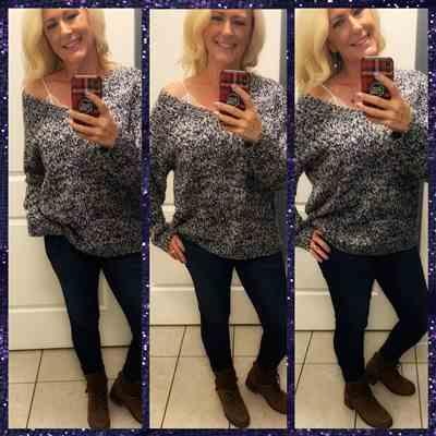Melissa Hammond verified customer review of Long Days Sweater - Navy