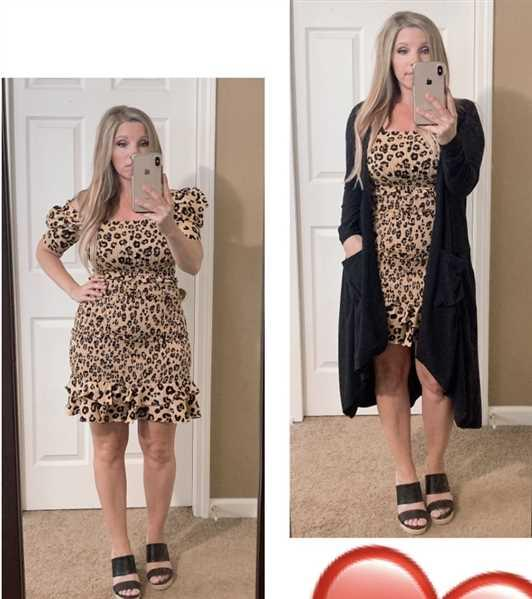 Closet Candy Boutique Wild Thing Dress - Leopard Review