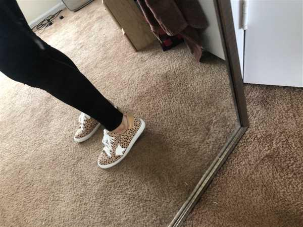 Graciela Betancourt verified customer review of You're A Rockstar Sneakers - Spotted Leopard