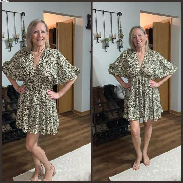 Susan Vierck verified customer review of Slay The Day Dress - Leopard