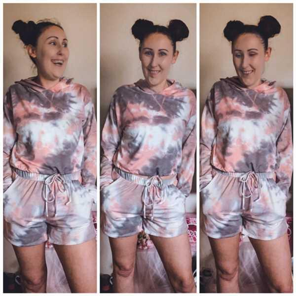 Closet Candy Boutique Happy At Home Tie Dye Loungewear - Pink Review