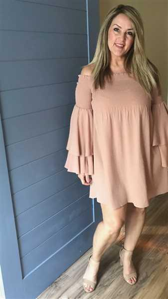 Closet Candy Boutique Dancing In The Sun Dress - Dusty Rose Review