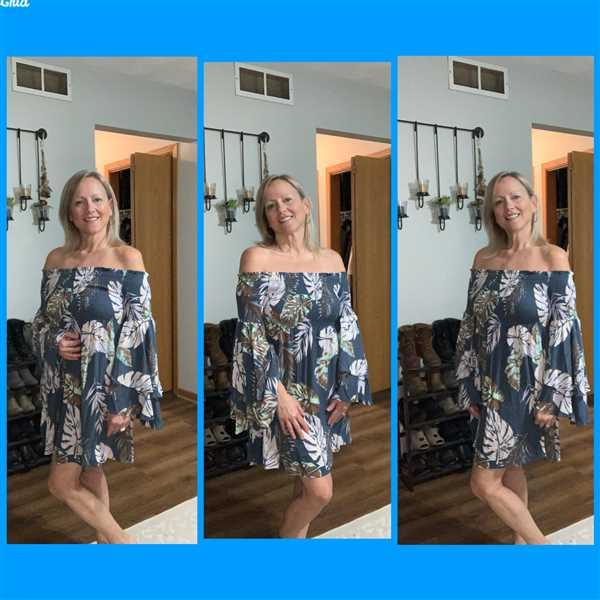 Closet Candy Boutique Dancing in the Sun Dress - Blue Tropics Review