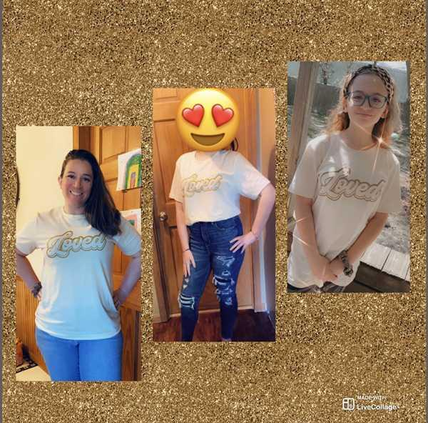 Closet Candy Boutique Loved Graphic Tee - Cream Review