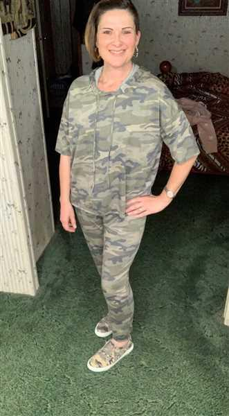Closet Candy Boutique Relaxing on the Weekend Loungewear - Camo Review