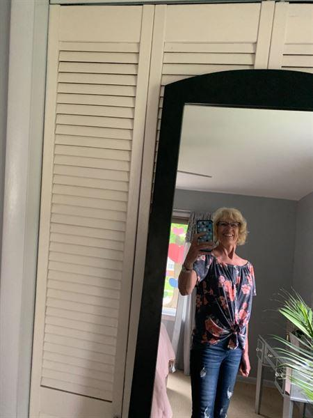 Closet Candy Boutique Add Sun Top - Heather Navy Review