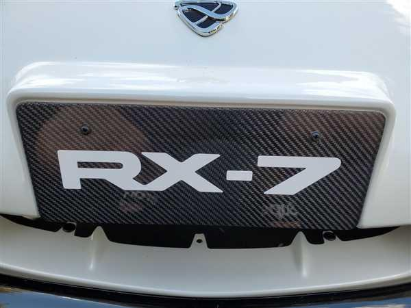 Garage Alpha Mazda RX-7 [FD3S] Carbon Fiber 99Spec License Plate Review