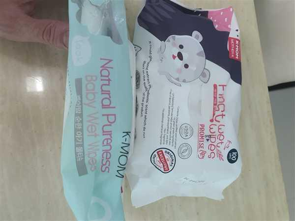 k-mom singapore First Promise Wet Wipes (100pcs) Review