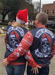 Mary V. verified customer review of Sons Of Santa Sweatshirt