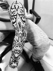 Hugo D. verified customer review of Tribal Totem Sleeve