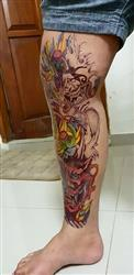 Adam N. verified customer review of Asian Demon Sleeve