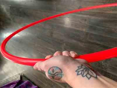 Beth Pounds verified customer review of UV Glow Polypro Hula Hoop