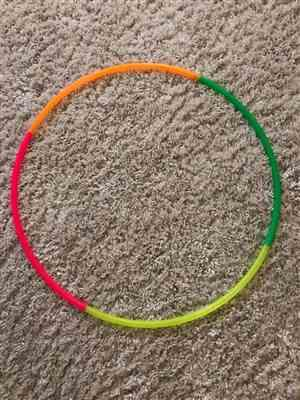 Ben Hale verified customer review of You Customize  - 4 Section Multi Colored Hoop