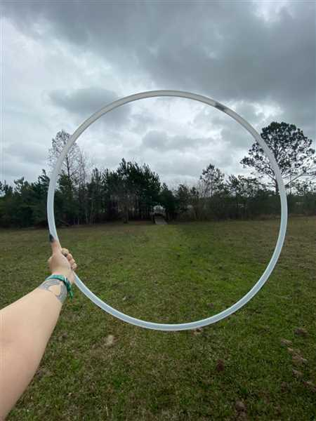 Kailyn Arceneaux verified customer review of Natural Polypro Hula Hoop