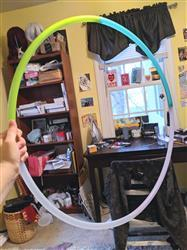 Petra W. verified customer review of Sea Glass 4 Section Travel Hoop