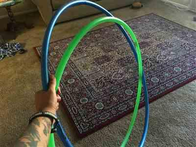 Brittany M. verified customer review of UV Glow Polypro Hula Hoop