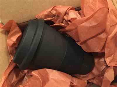 Shireen Etoroma verified customer review of Black Matte Cafe Yo - Bamboo Reusable Cup