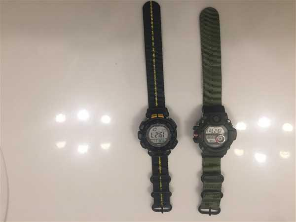 Petko Andreev  verified customer review of Ballistic Nylon Fire Divider Zulu Watch Strap