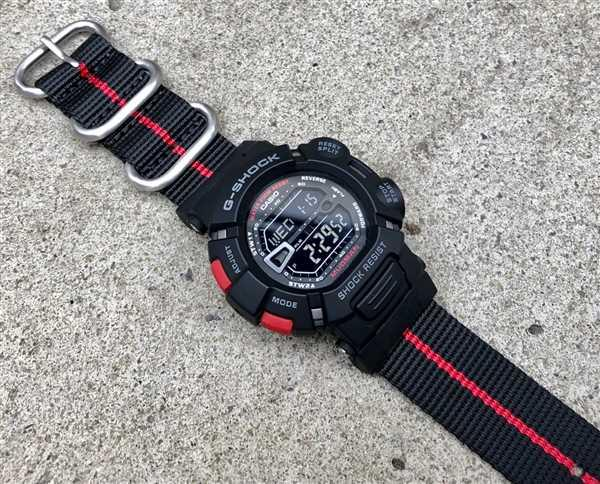 Stephen Dickson verified customer review of Ballistic Nylon Fire Divider Zulu Watch Strap