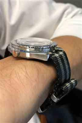 Luan verified customer review of Seat Belt Coal Black Nato Watch Strap