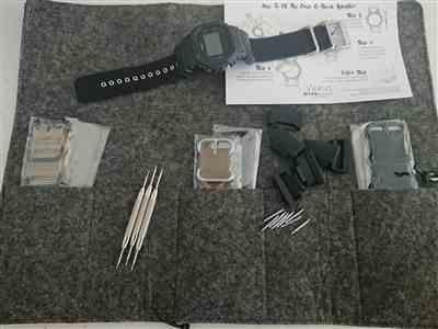 Dean verified customer review of Cordura Coal Black Zulu Watch Strap with G-Shock Nato Adapter and Spring Bar Tool