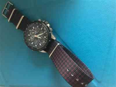 Anonymous verified customer review of Escher Crates Graphic Nato Watch Strap