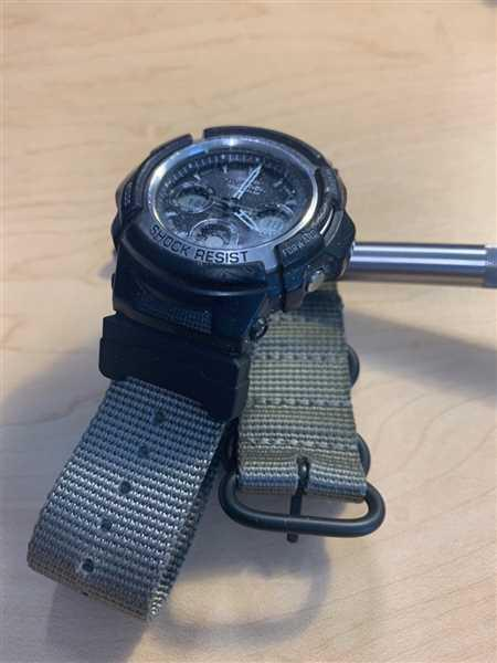 Anonymous verified customer review of Ballistic Nylon Kahki Brown Zulu Watch Strap with G-Shock Nato Adapter and Spring Bar Tool
