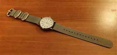 Jean-Luc verified customer review of Ballistic Nylon Ash Grey Zulu Watch Strap