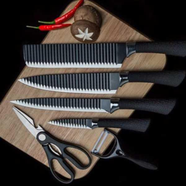 Tiprix.mu Ghero Non-Stick Knife Set of 6 Review