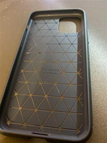James Hall verified customer review of Carbon designed soft silicone protective iPhone case