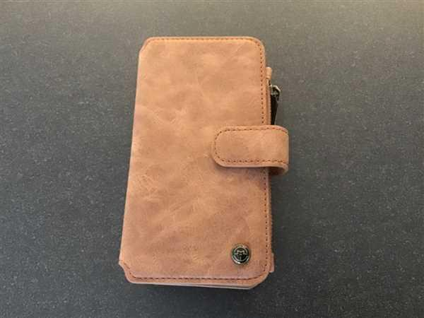 iiCase CaseMe Leather separable flip 14 cards wallet iPhone case cover Review