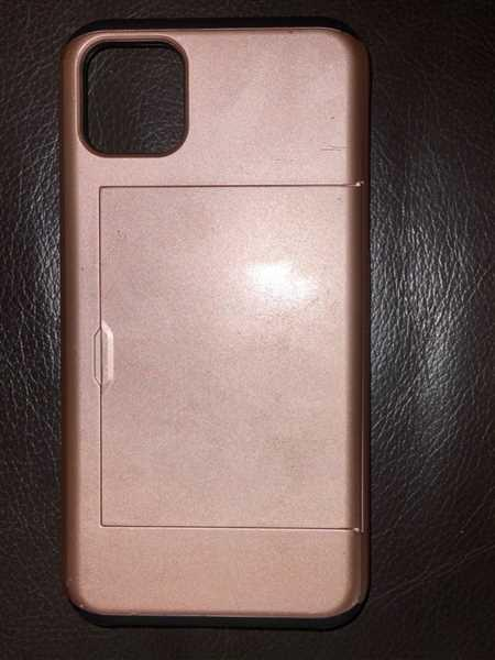 Michelle Miechel verified customer review of Protective slide card pocket matt surface iPhone Case