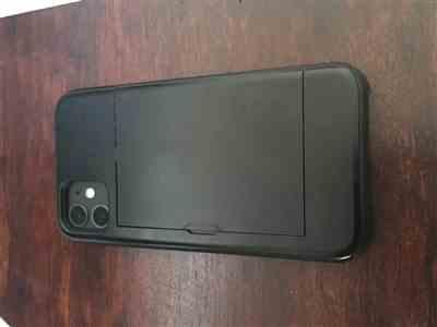Benjamin Skelton verified customer review of Protective slide card pocket matt surface iPhone Case