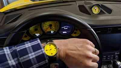 Karl Kohlgraf verified customer review of One Hand Watch Yellow Dial Quartz