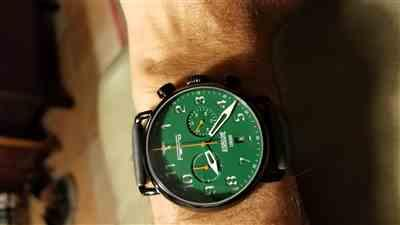 Paul Rosario verified customer review of Airborne Green Dial Black Case