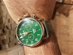 Abdul T. verified customer review of Airborne Green Dial