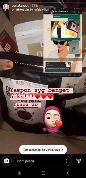 Aprizkya Putri verified customer review of Premium Cookies Box (GRATIS 4 PAK)