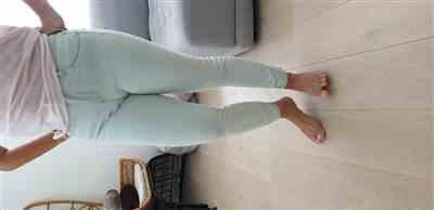 Andriana M. verified customer review of High-Rise Skinny Crop Jeans with Raw Edge Hem - Pymmes