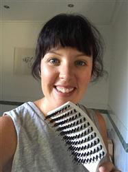 Rachel D. verified customer review of Happy Hair Brush White