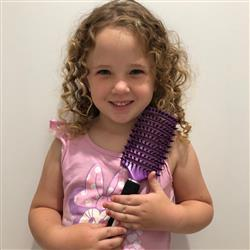 Brooke F. verified customer review of Purple