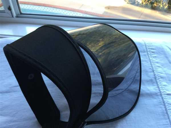 Dori Ludwig verified customer review of Solar Face Shield