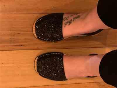 Dione Cooke verified customer review of Black Glitter