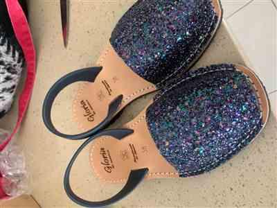 Shannon Drake verified customer review of Navy Glitter